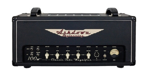 Ashdown Engineering 100 Watt All Valve Bass Amp Head
