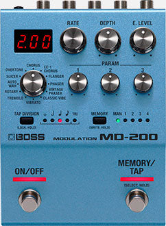 Boss MD-200 Modualtion
