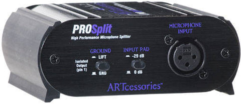 ART Pro Audio ProSplit - Mic Line Splitter