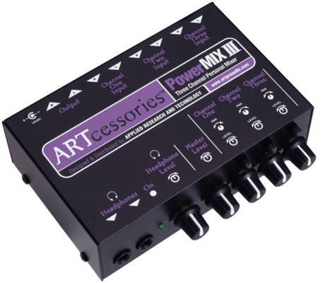 ART - 3 CH MIXER - L.A. Music - Canada's Favourite Music Store!