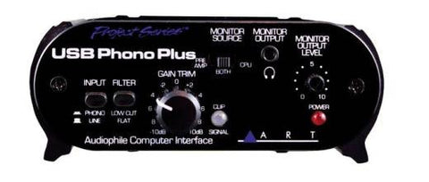 ART PHONO PREAMP /INTERFACE W/USB - L.A. Music - Canada's Favourite Music Store!