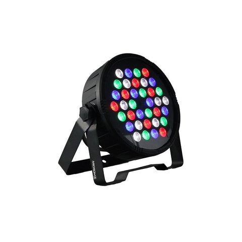 MICROH DJ LED BLADEP64 PRO RGBW Slim Par Light with Wireless Remote