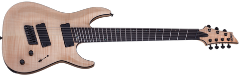 Schecter C-7 Multiscale SLS Elite Gloss Natural (GNAT) 1366 7 String Guitar