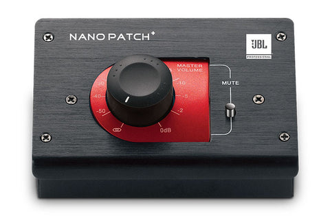 JBL NPATCH BLK Compact Passive Volume Controller - L.A. Music - Canada's Favourite Music Store!