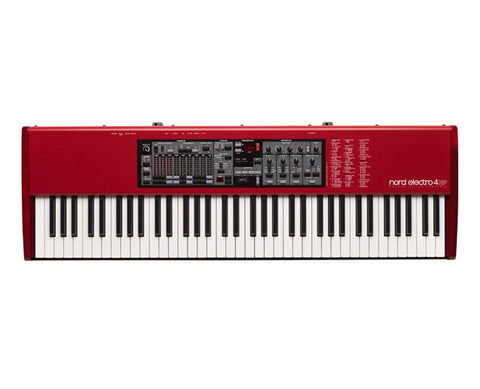 Nord Electro4 73 key lightweight piano action ELECTRO4HP73 - L.A. Music - Canada's Favourite Music Store!