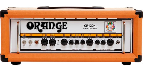 Orange CR120H Crush 120 Watt, 2 Channel Guitar Amp Head, w/Digital Reverb & FX loop