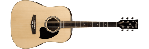 Ibanez PF15-NT PF Series Acoustic Guitar Natural High Gloss