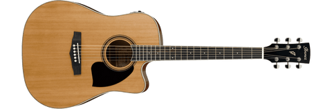 Ibanez PF17ECE-LG PF Series Acoustic Guitar Natural Low Gloss
