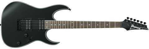 Ibanez RG421EX-BKF RG Series 6 String RH Electric Guitar – Black Flat