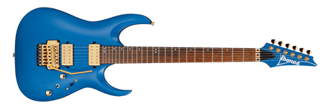 IBANEZ RGA42HPT-LBM RG NYATOH ROASTED MAPLE NECK W/GOLD HW - LASER BLUE MATTE