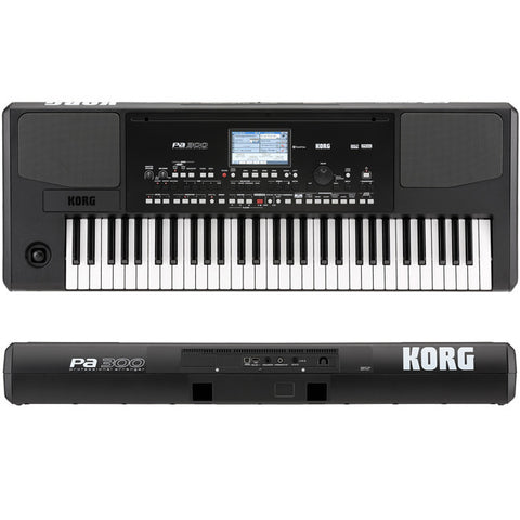 Korg PA300 61-key Arranger Workstation - L.A. Music - Canada's Favourite Music Store!