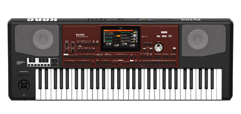Korg PA700OR Quarter Tone 61-key arranger with Color Touchview,speakers,USB