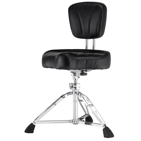 Pearl D-2500BR Motorcycle-type seat Quick release backrest - L.A. Music - Canada's Favourite Music Store!