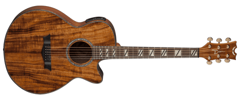 DEAN PERFORMER ACOUSTIC ELECTRIC KOA WOOD