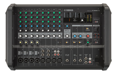 Yamaha EMX5 HIgh Efficency Portable Powered Mixer