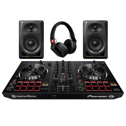 Pioneer DJ Starter Pack with DDJ-RB,  DM-40 & HDJ-700R - L.A. Music - Canada's Favourite Music Store!