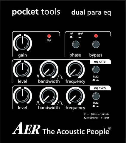 AER Pocket Tools Dual Para EQ - L.A. Music - Canada's Favourite Music Store!