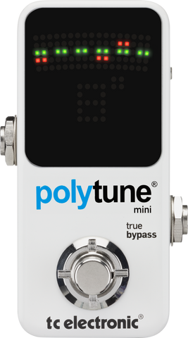TC Electronic PolyTune 2 Mini Guitar and Bass Tuner Pedal