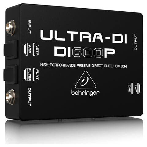 Behringer DI600P High Passive Direct Injection Box - L.A. Music - Canada's Favourite Music Store!