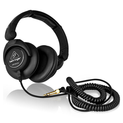 Behringer HPX6000 Professional DJ Headphones - L.A. Music - Canada's Favourite Music Store!