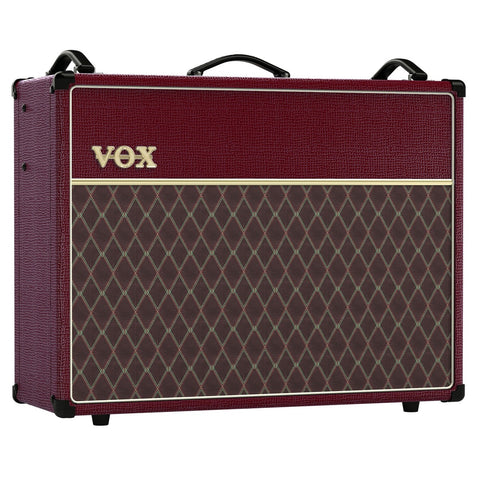 Vox Limited Edition Maroon Bronco AC30 AC30C2MB 30 Watt Tube Combo