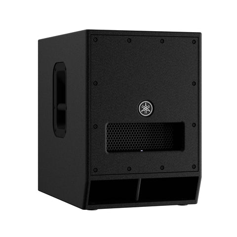Yamaha DXS12 MKII Powered subwoofer with upgraded power amp, dynamic control, freq response
