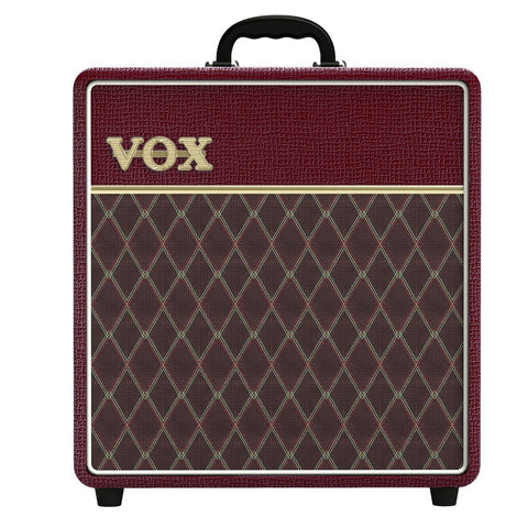 Vox Limited Edition Maroon Bronco AC4 AC4C112MB 4 Watt Tube Combo