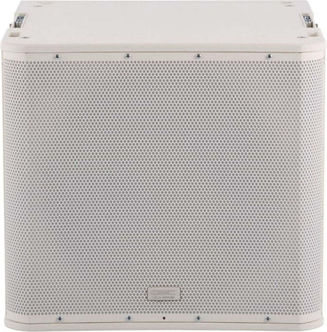 QSC KLA181-W 18 Inch 1000W Powered Sub with Rigging Hardware - White