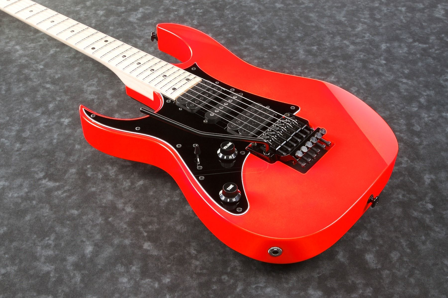 Ibanez Rg550 Genesis 2018 Road Flare Red Left Handed L A