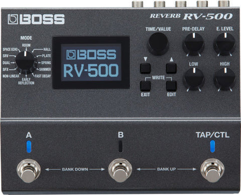 Boss RV-500 Reverb Effects Pedal - L.A. Music - Canada's Favourite Music Store!