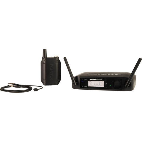 Shure GLXD14/93-Z2 Wireless Instrument System with WL93 Lavalier Microphone