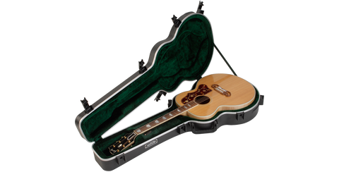 SKB ABS Acoustic Guitar Case for Jumbo Style