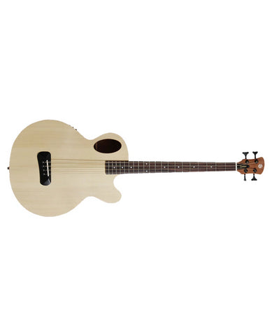 Spector Timbre 4 Jr. Short Scale Acoustic Bass - Natural Finish