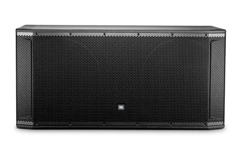 "JBL SRX828S dual 18"" subwoofer for concert, touring, or installed use"