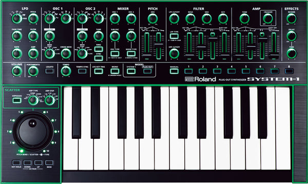 AIRA Roland System-1 Plug-out Synth
