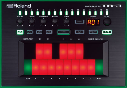 AIRA Roland Touch Bass-line TB-3 - L.A. Music - Canada's Favourite Music Store!