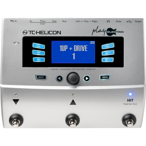 TC Helicon Play Electric Vocal Electric Guitar Effect Processor