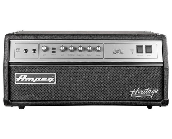 Ampeg HSVTCL Designed and Assembled in USA Alltube 300W Head Heritage