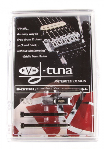 EVH D-Tuna Set, Chrome, 5550121468 - L.A. Music - Canada's Favourite Music Store!