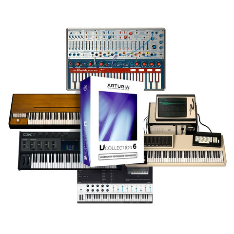 Arturia VC6 V Collection 6,21 Softsynths Box Version
