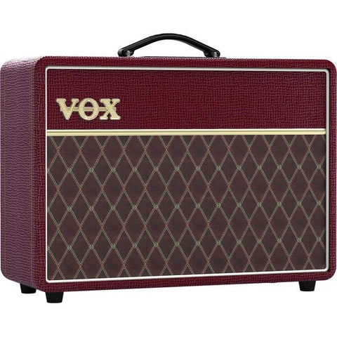 Vox Limited Edition Maroon Bronco AC10 AC10C1MB 10 Watt Tube Combo