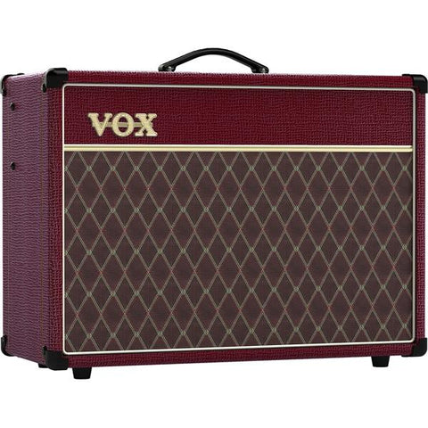Vox Limited Edition Maroon Bronco AC15 AC15C1MB 15 Watt Tube Combo