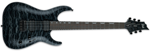 ESP LTD H-1001 IN SEE THRU BLACK