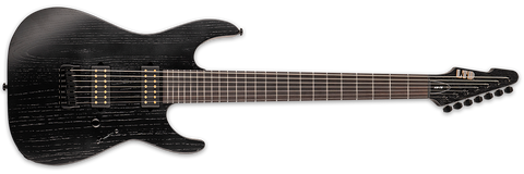ESP LTD Alex Wade AW7B Open Grain Black LAW7BOGBLK