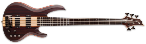 ESP LTD LB5ENS B5E Bass Guitar Natural Satin - L.A. Music - Canada's Favourite Music Store!