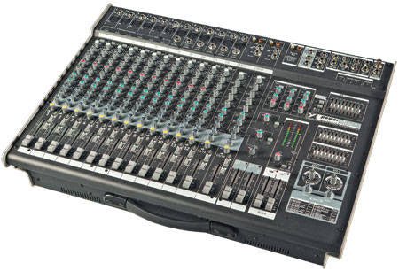 Yorkville PM2012 12-Channel 2,000-Watt Powered Desk Mixer