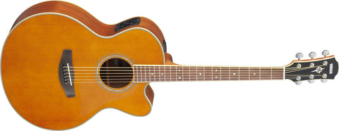 Yamaha CPX700II Medium-Jumbo Cutaway Acoustic-Electric Guitar Tinted