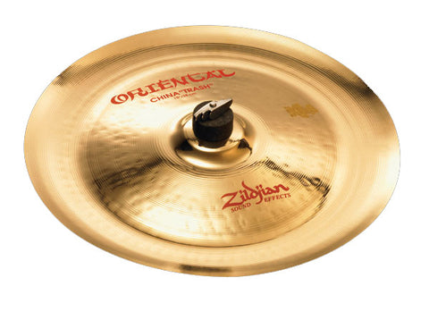 "Zildjian 14"" Oriental China ""Trash"" Floor Model Clearance"