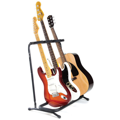 Fender 3 Guitar Folding Stand - L.A. Music - Canada's Favourite Music Store!