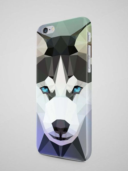 Geometric Husky iPhone 7 Case iPhone 8 Case - Robert Bowen Tees